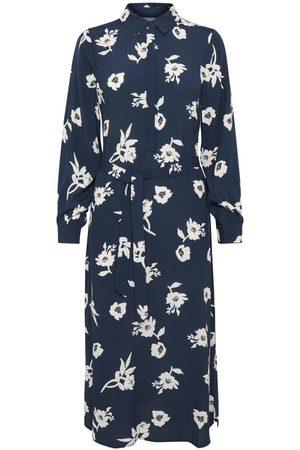 Ichi Bessin Midi Shirt Dress