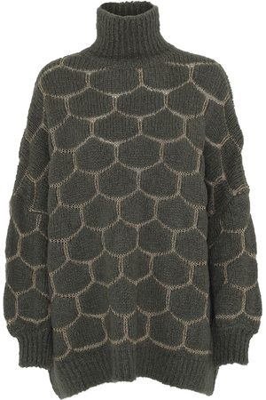 Rabens Saloner Cora - Honey Knit os Sweater