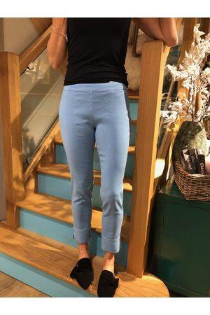 Slim Fit Linen Trouser in Little Boy