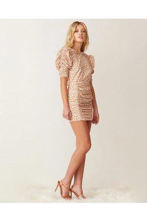 Bec & Bridge Zoe Puff Sleeve Mini Dress