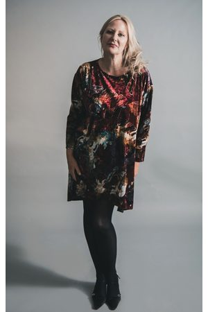 Out Of Xile BUTTERFLY VELVET TUNIC