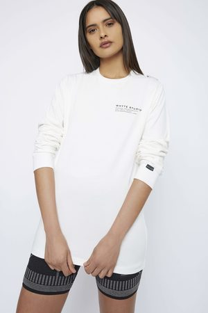 Whyte Studio THE 'JETWAY' LONG SLEEVE TOP