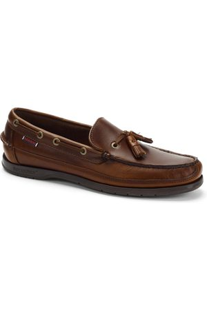 SEBAGO Ketch Waxed Leather Loafer - Gum