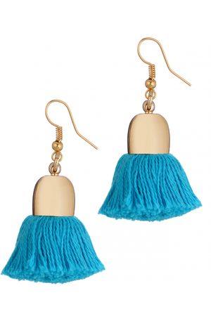Uzma Bozai Ami Earrings, Turquoise