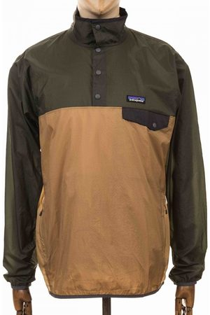 Patagonia Houdini Snap-T Pullover Top - Classic Tan Colour: Classic Ta