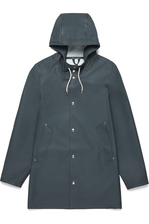 Stutterheim Women Rainwear - Stockholm Charcoal Raincoat by