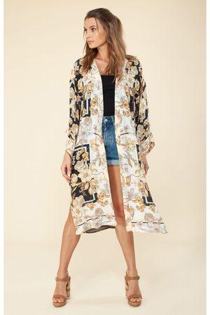 Hale Bob Women's H9YJM7400 Printed Kimono in