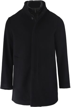 Emporio Armani Two-In-One Wool Blend Coat