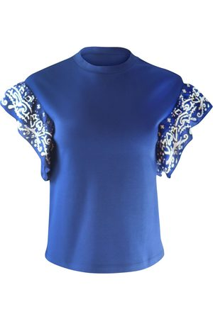 Scotch&Soda Scotch & Soda Bandana Ruffled Sleeve T-shirt