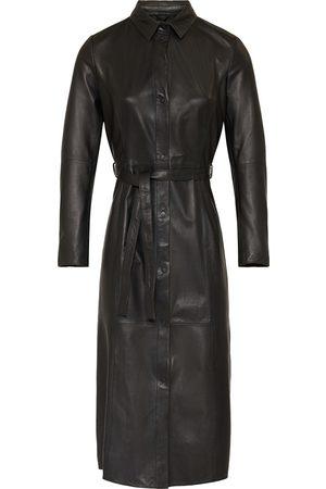 GOOSECRAFT Spencer Leather Dress