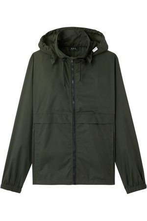 A.P.C. . Coupe Vent Miles Windbreaker Jacket - Evergreen (Vert Sapin)