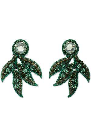 Narratives The Line Emerald Mini Cosmos Earrings