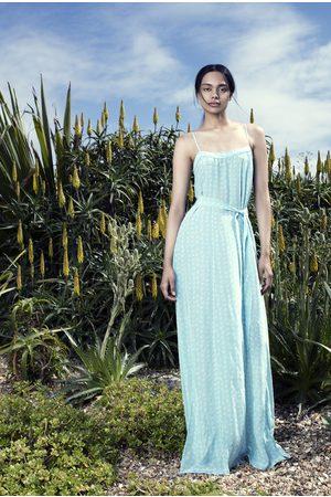 Uzma Bozai Mona Maxi Dress - Aqua