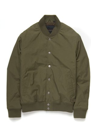 Deus Ex Machina Chuck Fleece Bomber Jacket - Bark