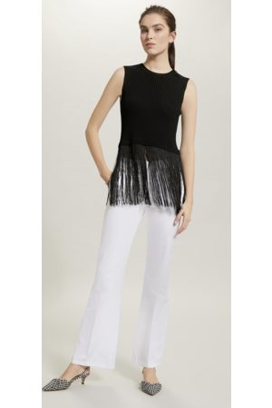 pennyblack Knit Top with Maxi Fringe