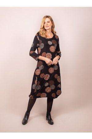 Capri Allium Print Copper Dress ALM02DRS