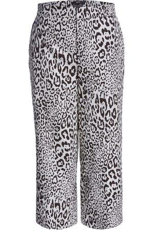 SET Women Culottes - Mono Culotte Leopard Trousers