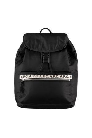 A.P.C. . Repeat Logo Clip Backpack
