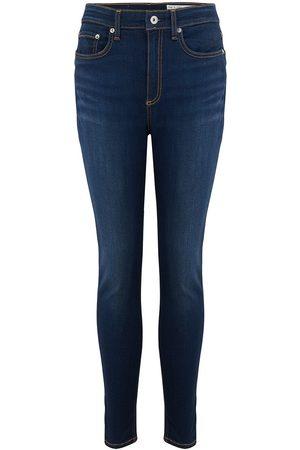 RAG&BONE Nina High Rise Ankle Skinny Jeans - Carmen