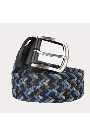 Anderson's Men Belts - Andersons Woven Textile Belt - Shades of Grey &