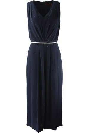 Max Mara Maxmara Studio V Neck All-In-One Jumpsuit