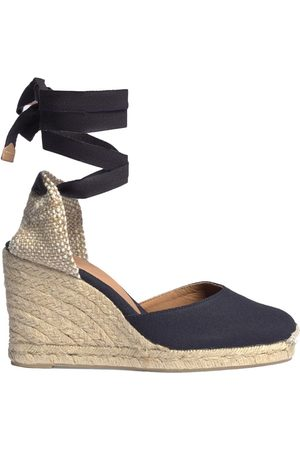 Castaner Women Wedge Sandals - Carina 8 Espadrille Wedge Sandal - Azul Marino