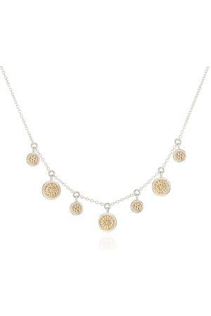 Anna Beck Mini Disk Charm Necklace and