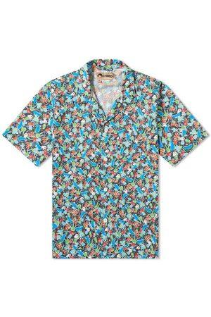 Nigel Cabourn Navy Print Frankies Shirt