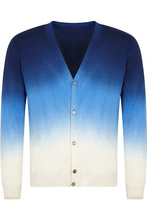 Mr Q Wexford Hand Dip Dyed Cardigan