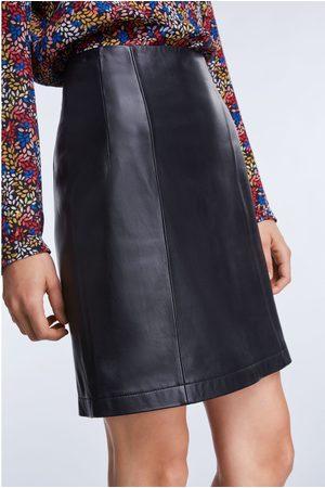 SET Leather Mini Skirt