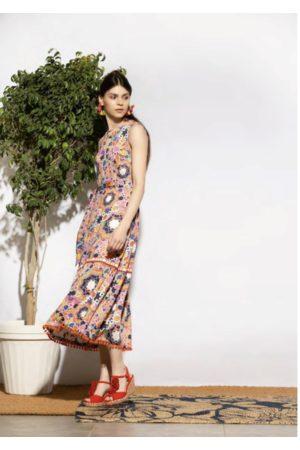 Emily Lovelock Lily Pom Pom Dress