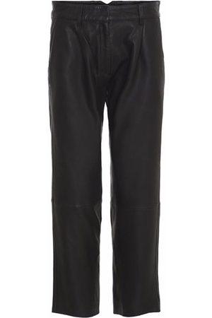 MDK / Munderingskompagniet Leather Iris Straight Leg Pant