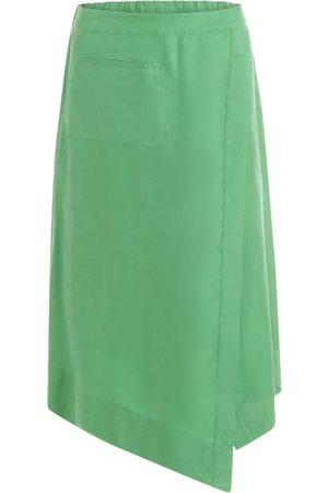 Coster Copenhagen Emerald Asymmetric Skirt