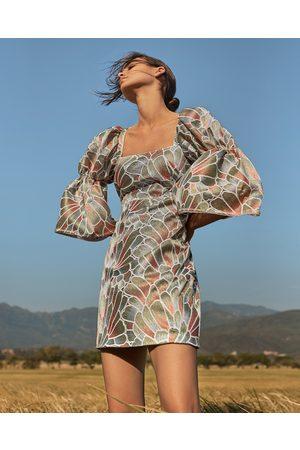 Azulu Lagos Petal Mini Dress
