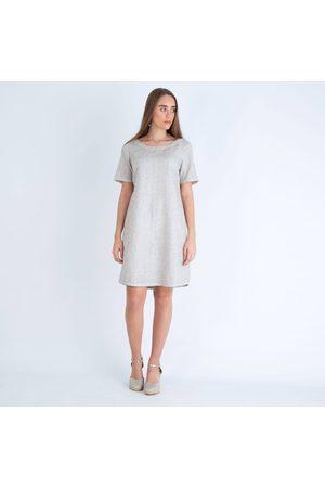 120% Lino 120% Linen Glitter Print Dress ROW4144 F792G00