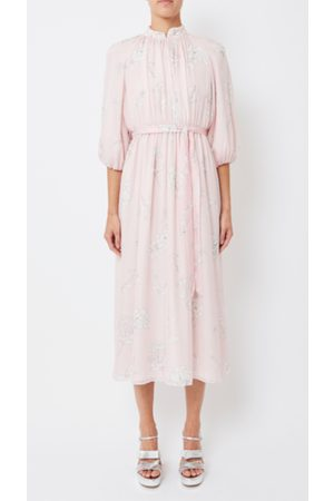 HUISHAN ZHANG Nina Long Sleeve Gown