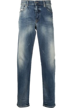 Diesel Distressed-effect tapered jeans