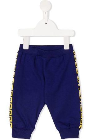 VERSACE Baby Sweatpants - Greca-print track pants