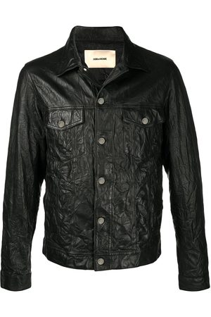 Zadig & Voltaire Base crinkle leather jacket