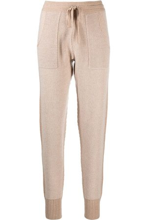 ERES Journal chunky-knit lounge trousers - Neutrals