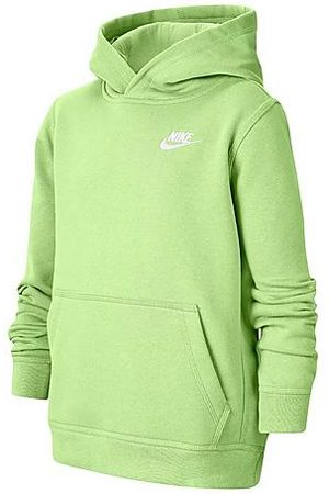 Nike Boys Hoodies - Boys' Sportswear Logo Club Hoodie Size Small Cotton/Polyester/Fleece