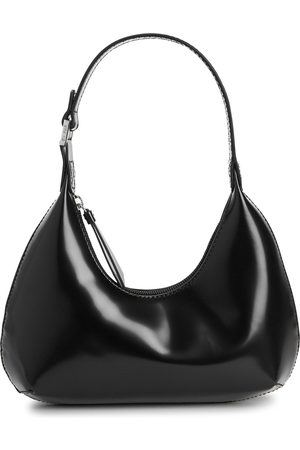 By Far Baby Amber leather shoulder bag