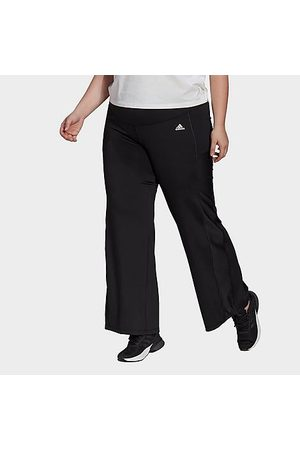 adidas Women's Designed 2 Move Bootcut Pants (Plus Size) in Size Extra Large Polyester