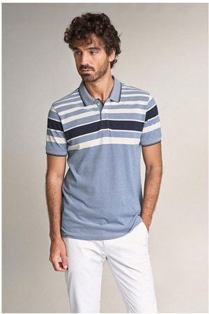 Salsa Regular Fit Polo Shirt With Stripes On Chest