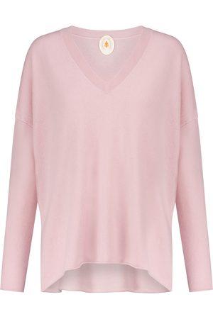 Jardin des Orangers Oversized V-neck cashmere sweater