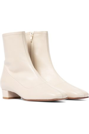 By Far Este leather ankle boots