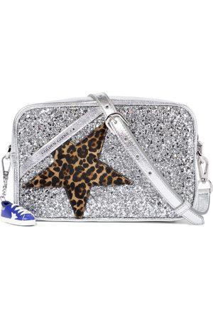 Golden Goose Star Glitter leather shoulder bag