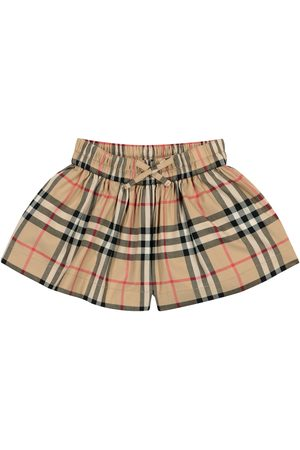 Burberry Baby Vintage Check cotton shorts