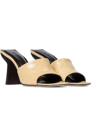By Far Liliana leather sandals