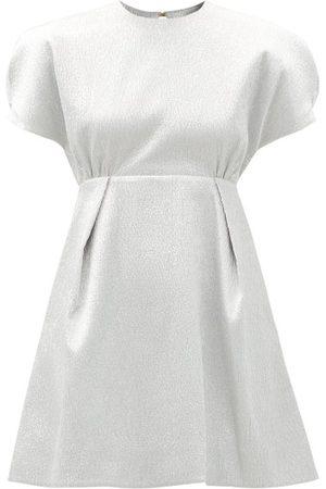 EMILIA WICKSTEAD Tinker Textured-lamé Mini Dress - Womens